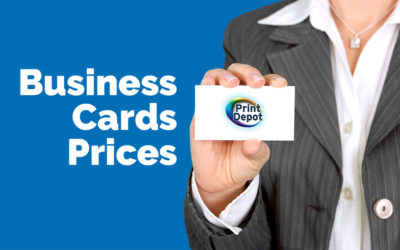 Our business card digital price list