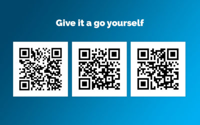 Examples of good use of QR codes