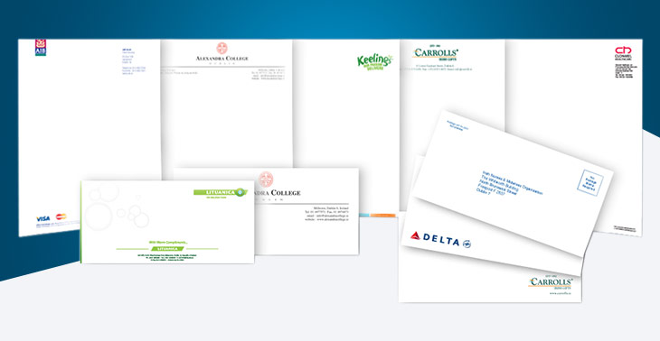 Printing Services in Dublin - Stationery
